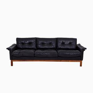 Mid-Century Leather Cardinal Sofa from Ikea, 1970s