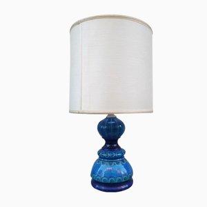 Mid-Century Tischlampe aus Glas von Bitossi, 1950er