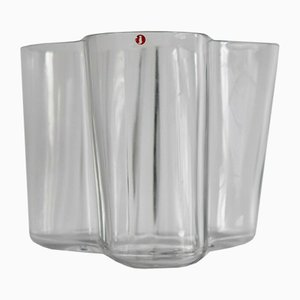 Glass Vase by Alvar Aalto for Iittala, 1970s