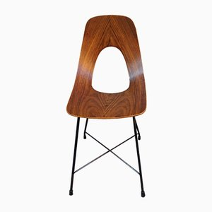 Ariston Rosewood Armchair by Augusto Bozzi for Fratelli Saporiti, 1950s