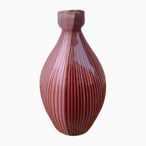Vase en Verre par Carlo Scarpa pour Venini, 1980s