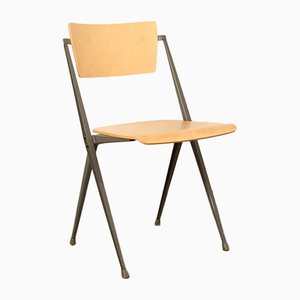 Piramide Chair by Wim Rietveld for Ahrend De Cirkel, 1950s