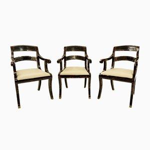 Holzstühle von Maitland-Smith, 1970er, 6er Set