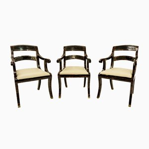 Wooden Chairs from Maitland-Smith, 1970s, Set of 6