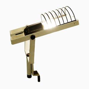 Lámpara de mesa italiana de metal de Ernesto Gismondi para Artemide, años 70
