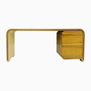 Escritorio vintage de madera, años 70