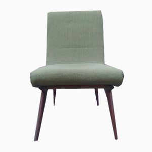 Mid-Century Stuhl aus Mahagoni, 1950er