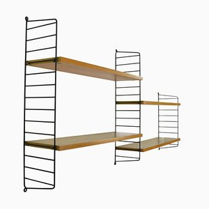 Shelving Unit by Kajsa & Nils Nisse Strinning for String, 1960s