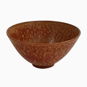 Cuenco sueco Mid-Century de cerámica de Gunnar Nylund para Rörstrand, años 50