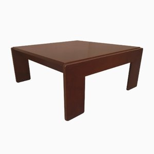 Rosewood Coffee Table by Tobia Scarpa for Cassina, 1970s