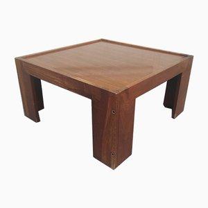 Table Basse en Noyer par Afra & Tobia Scarpa pour Cassina, 1960s