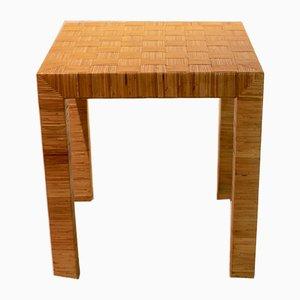 Table d'Appoint en Bambou de Vivai del Sud, Italie, 1970s