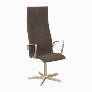 Oxford High Back Model 3272 Desk Chair by Arne Jacobsen, 2004