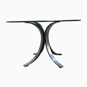 Glass Coffee Table by Osvaldo Borsani for Tecno, 1970s