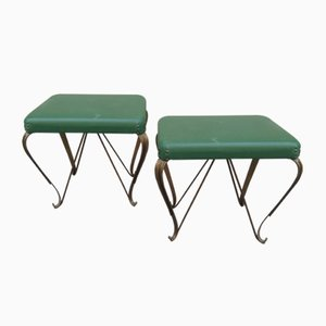 Mid-Century Hocker, 1960er, 2er Set