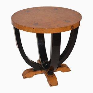 Mid-Century Italian Walnut Side Table, 1940s