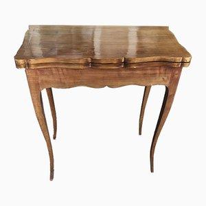 Table de Jeux Antique en Merisier