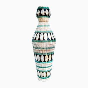 Vase en Céramique de Ceramiche Deruta, Italie, 1950s