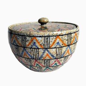 Keramikdose von Ceramiche Deruta, 1950er