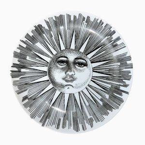 Decorative Sun Plate by Piero Fornasetti, 1970s