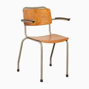 Chaise d'École Modèle 206 par W.H. Gispen pour Gispen, 1960s