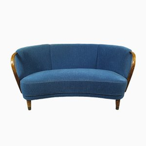 Mid-Century Danish Fabric Sofa by Viggo Boesen, 1950s