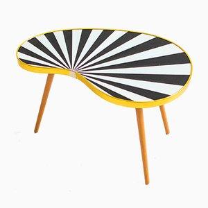 Tavolino Mid-Century in legno e laminato, anni '60