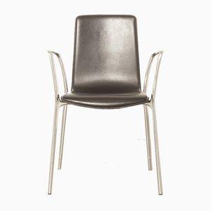 Schwarzer Gorka Stuhl von Jorge Pensi für Akaba, 2000er