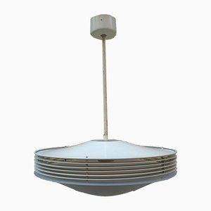 Lampada in alluminio e perspex di Stilnovo, anni '70