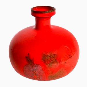 Jarrón italiano de cerámica de Ernestine, años 60
