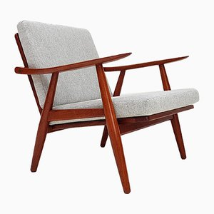 Danish GE-270 Lounge Chair by Hans J. Wegner for Getama, 1950s