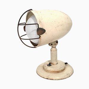 Lampada da tavolo vintage industriale, anni '60