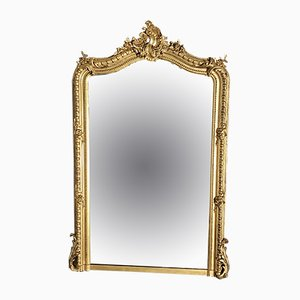 Antique Napoleon III Style French Mirror