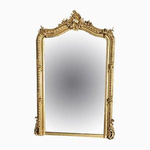 Espejo francés estilo Napoleón III antiguo