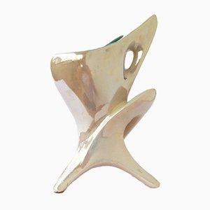 Italienische Mid-Century Keramiklampe von Artistica Aretini