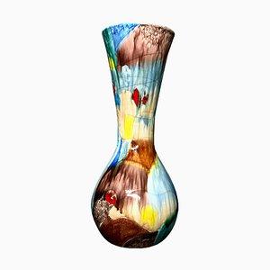 Italian Ceramic Vase by Agenore Fabbri for Ceramiche Albisola, 1957