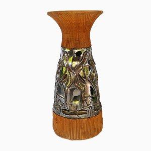 Italian Terracotta Vase, 1953