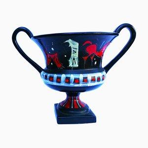 Italienische Mid-Century Keramikvase von Gianni Tosin für Etruria Arte