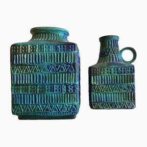Deutsche Keramikvasen von Mans Bodo für Bay Keramik, 1970er, 2er Set