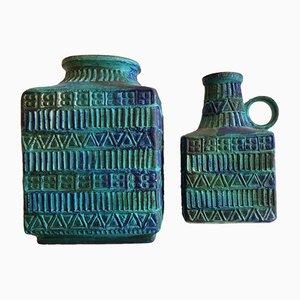 Vases en Céramique par Mans Bodo pour Bay Keramik, 1970s, Set de 2