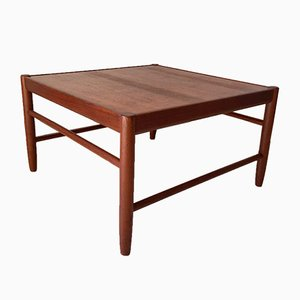 Scandinavian Modern Teak Coffee Table by Alf Svensson for Bodafors, 1962