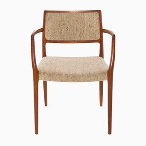 Danish Model 65 Teak Armchair by Niels Otto Møller for J.L. Møllers, 1960s
