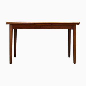 Mid-Century Danish Teak and Veneer Dining Table, 1960s