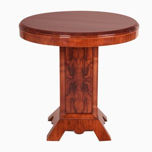 Art Deco French Walnut and Palisander Coffee Table, 1920s