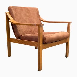 Scandinavian Modern Teak Lounge Chair, 1950s