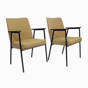 Deutsche Beistellstühle von Mauser Werke Waldeck, 1960er, 2er Set