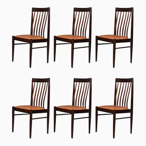 Scandinavian Modern Danish Dining Chairs by H. W. Klein for Bramin, 1960s, Set of 6