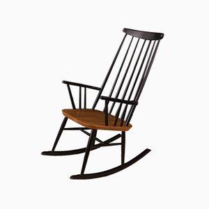 Mid-Century German Ash Rocking Chair, 1950s