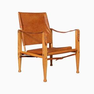 Chaise Safari par Kaare Klint pour Rud. Rasmussen, Danemark, 1960s