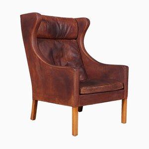 Dänischer Modell 2204 Sessel von Børge Mogensen für Fredericia, 1960er